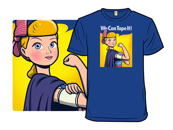 We Can Tape It! T Shirt