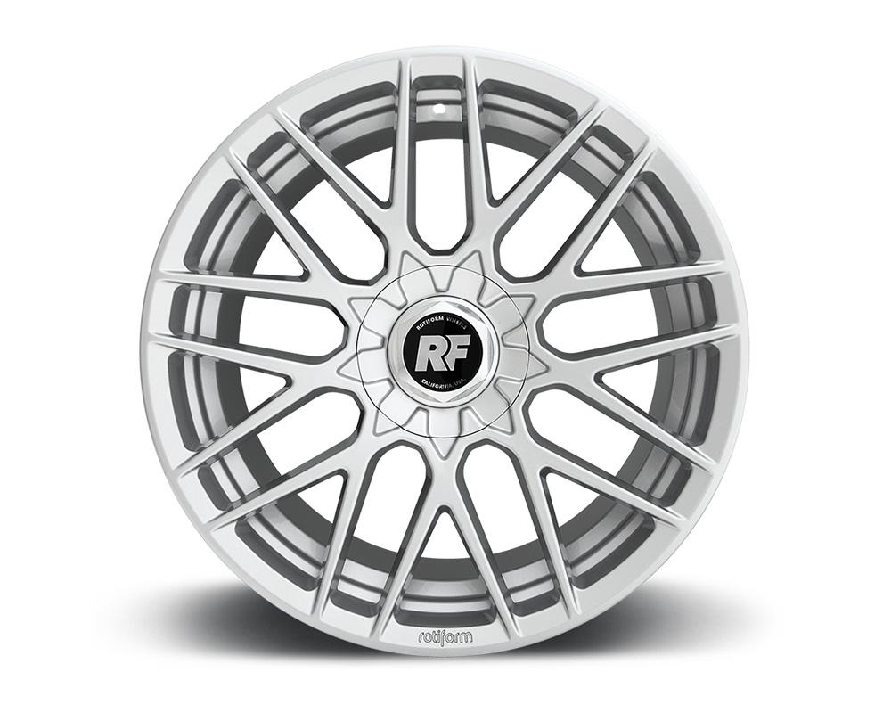 Rotiform R140198507+35 RSE Gloss Silver Cast Monoblock Wheel 19x8.5 5x112 | 5x114.3 35mm