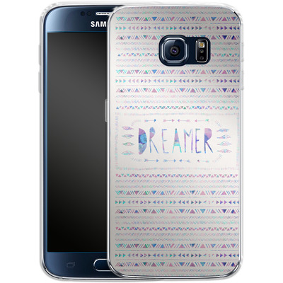 Samsung Galaxy S6 Silikon Handyhuelle - Dreamer von Bianca Green