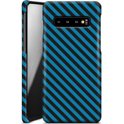 Samsung Galaxy S10 Smartphone Huelle - Stripes von caseable Designs
