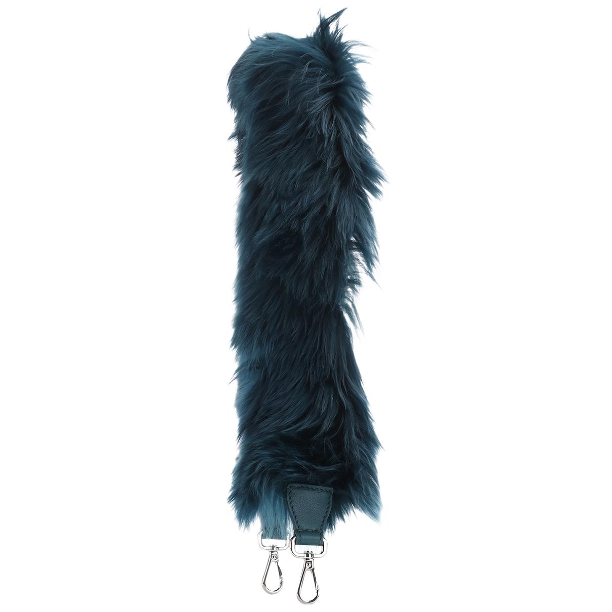 Fendi \N Green Fur Bag charms for Women \N