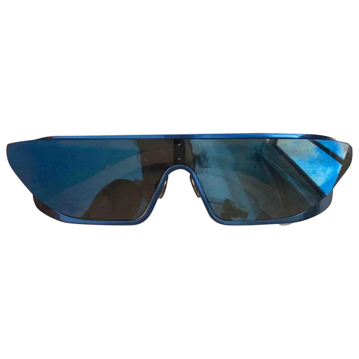 Dior \N Sonnenbrillen in  Blau Metall