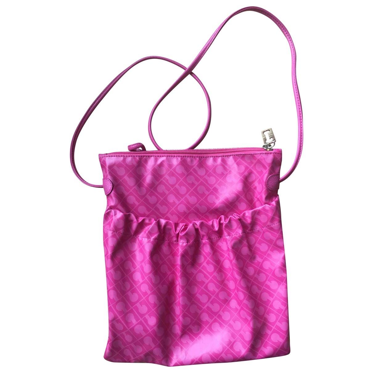 Gherardini \N Pink Cloth handbag for Women \N