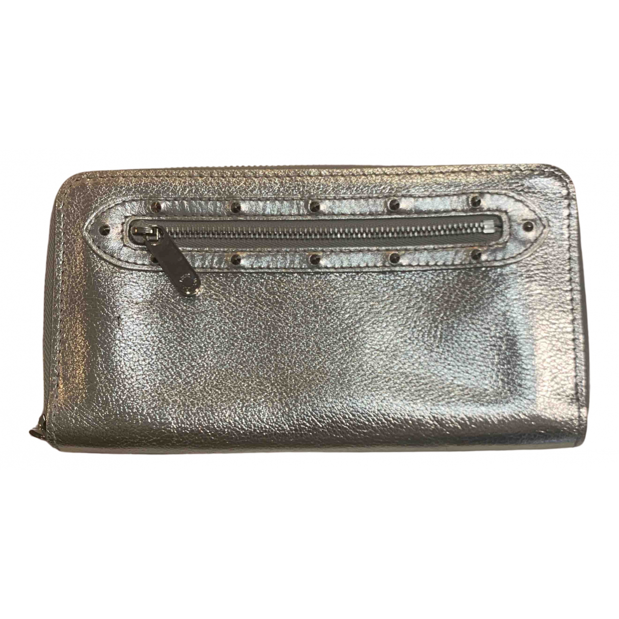 Louis Vuitton Zippy Metallic Leather wallet for Women N