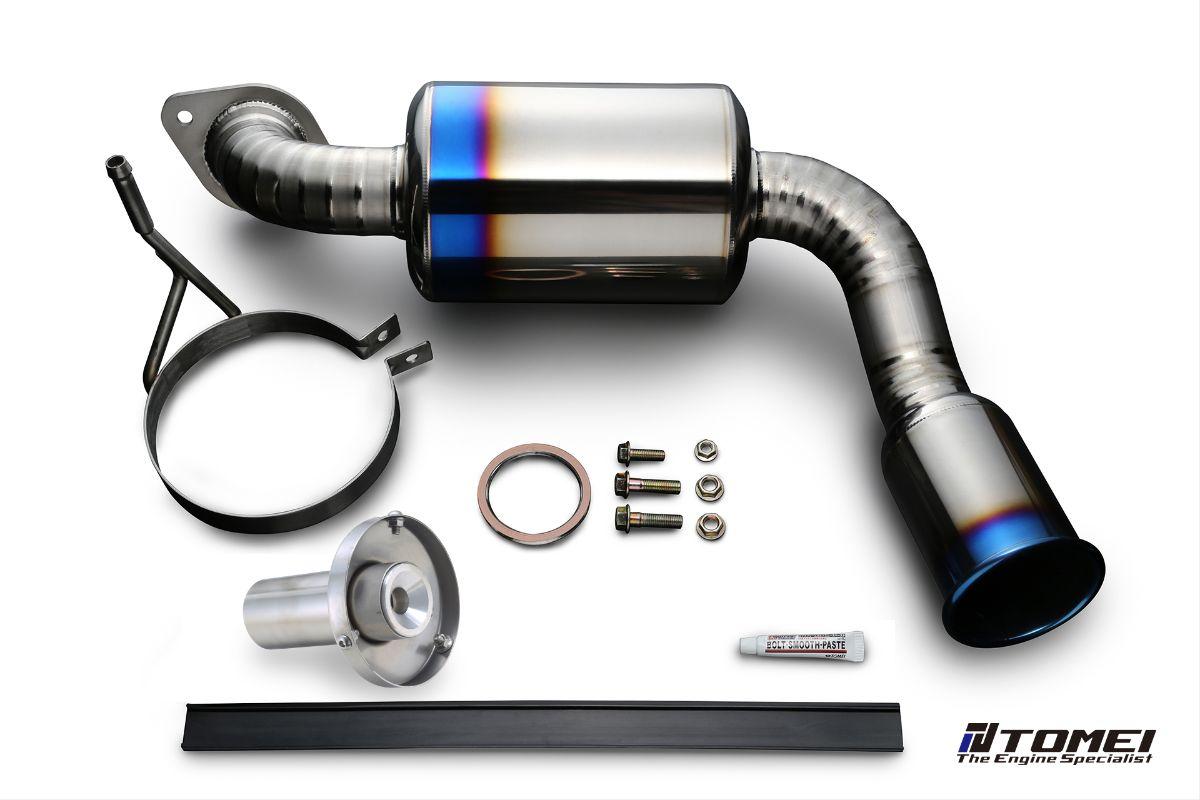 Tomei TB6090-MZ03A Expreme Ti Titanium Catback Exhaust System Mazda MX-5 NC 16-17