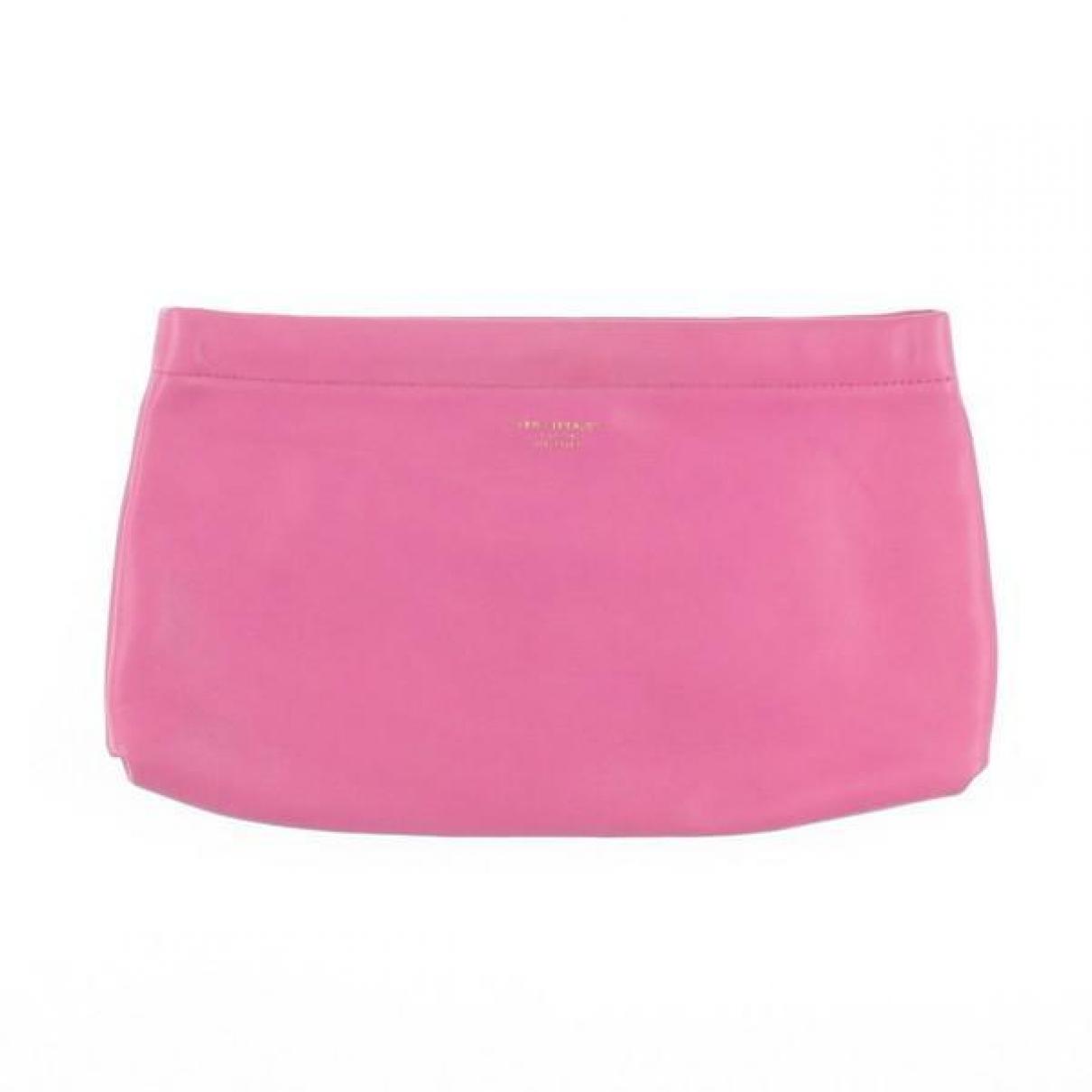 Acne Studios \N Pink Leather Clutch bag for Women \N