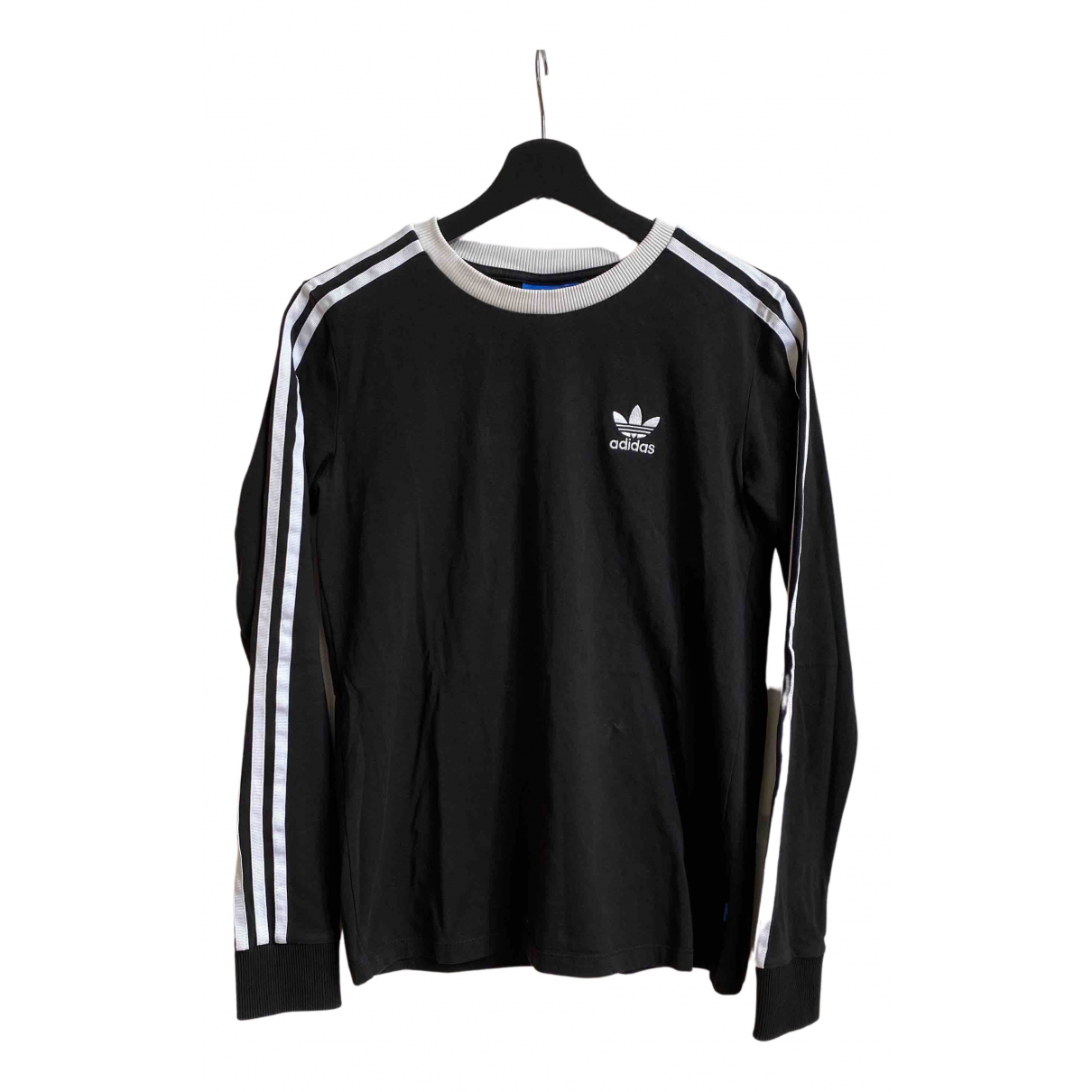 Adidas \N Top in  Schwarz Baumwolle