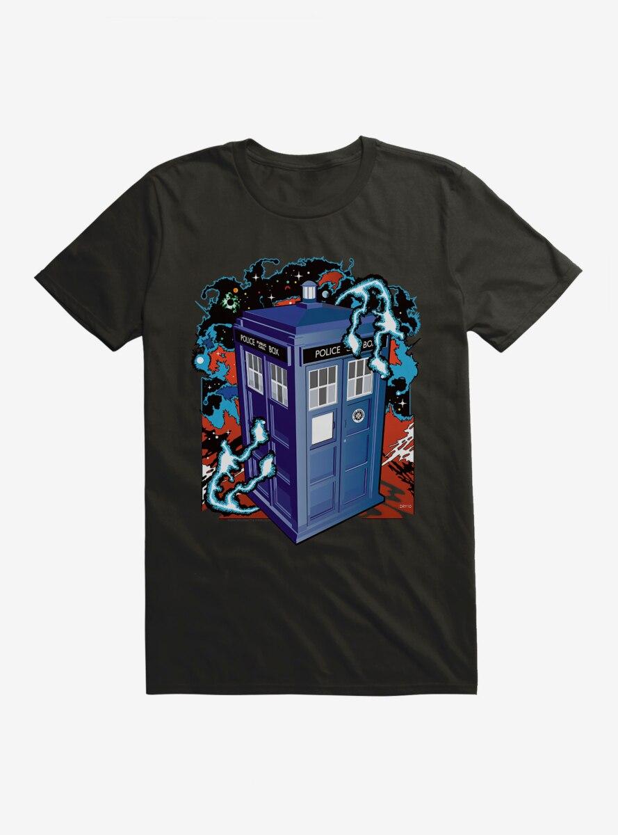 Doctor Who Electric Tardis T-Shirt