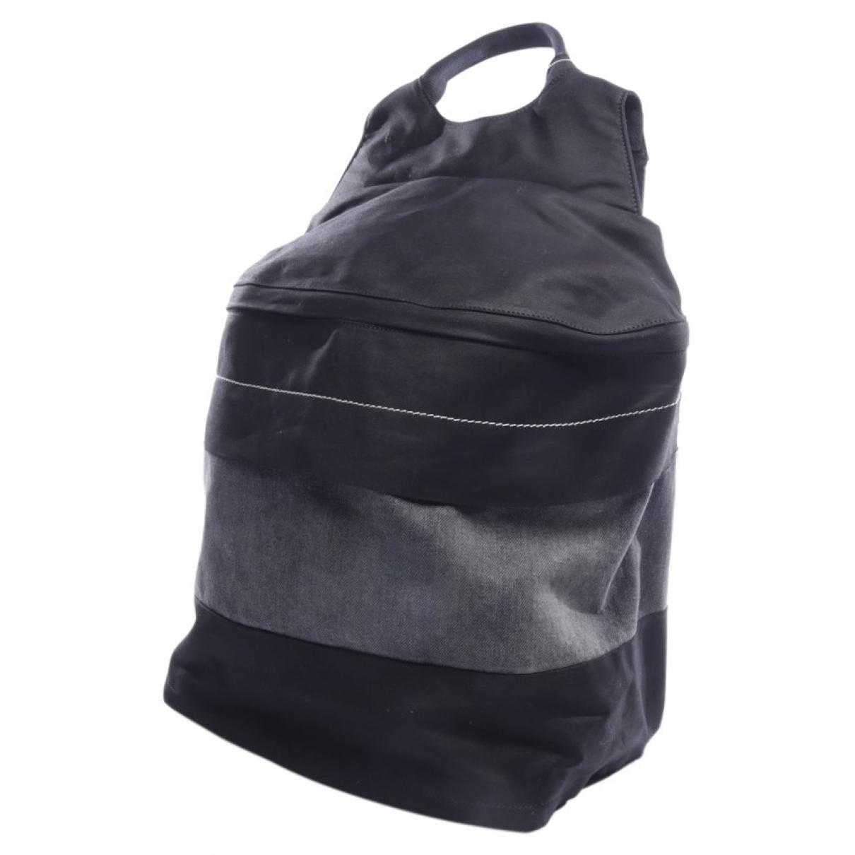 Rick Owens \N Black Cloth backpack for Women \N
