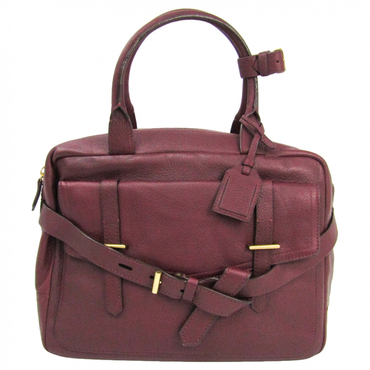 Reed Krakoff \N Burgundy Leather handbag for Women \N