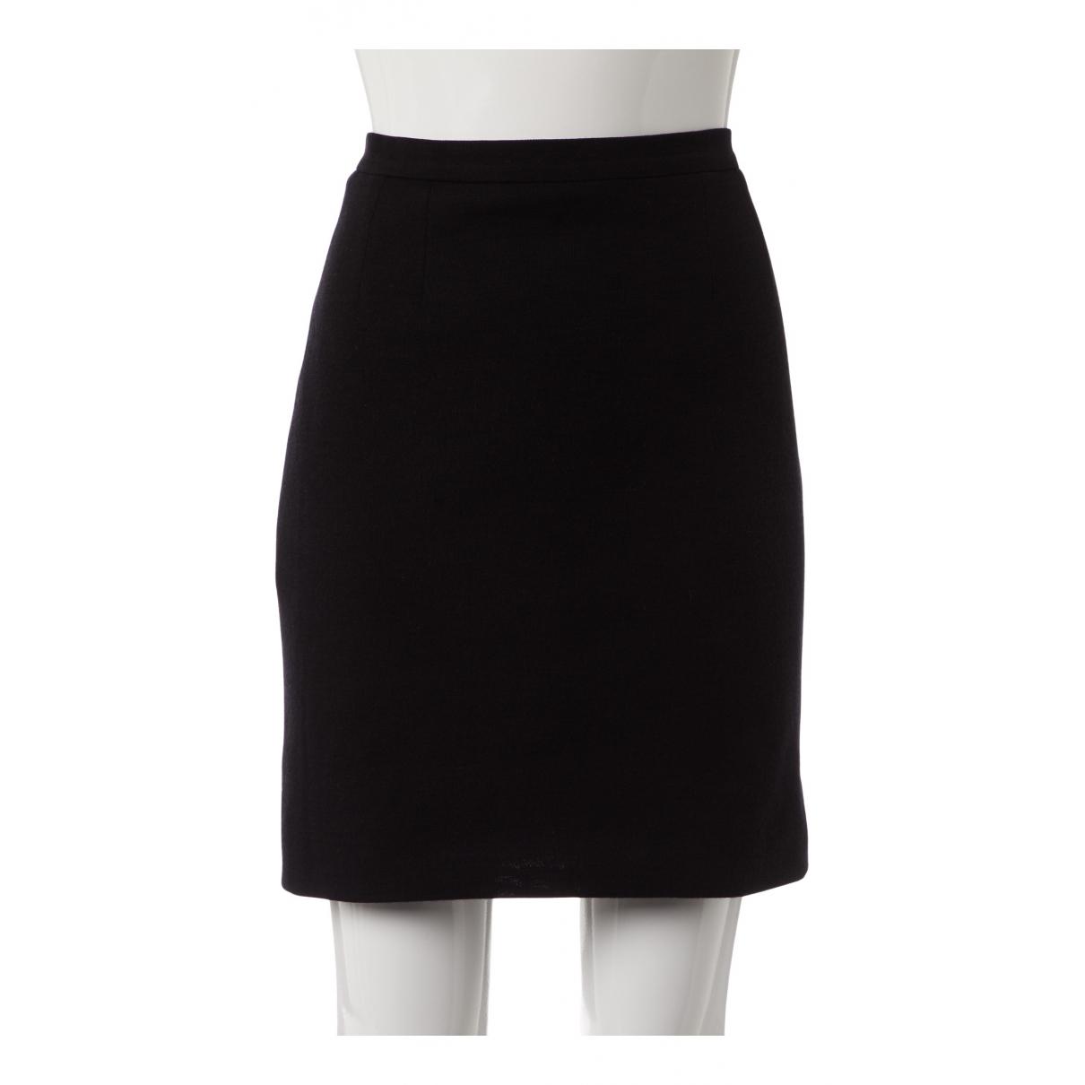 Chanel N Black Wool skirt for Women 40 FR