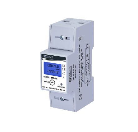 Chauvin Arnoux Energy Memo 1 Phase Digital Power Meter with Pulse Output