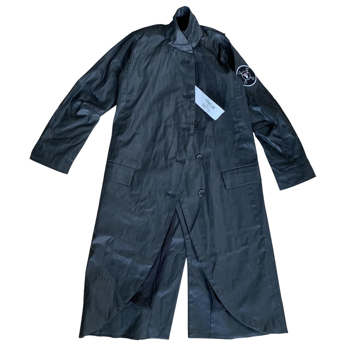 Nununu - Blousons.Manteaux   pour enfant en coton - noir