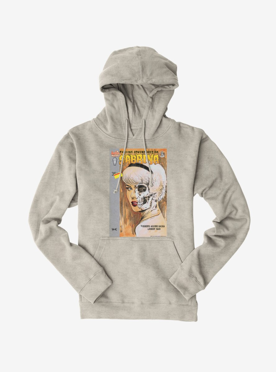 Archie Comics Chilling Adventures of Sabrina Half Skull Hoodie