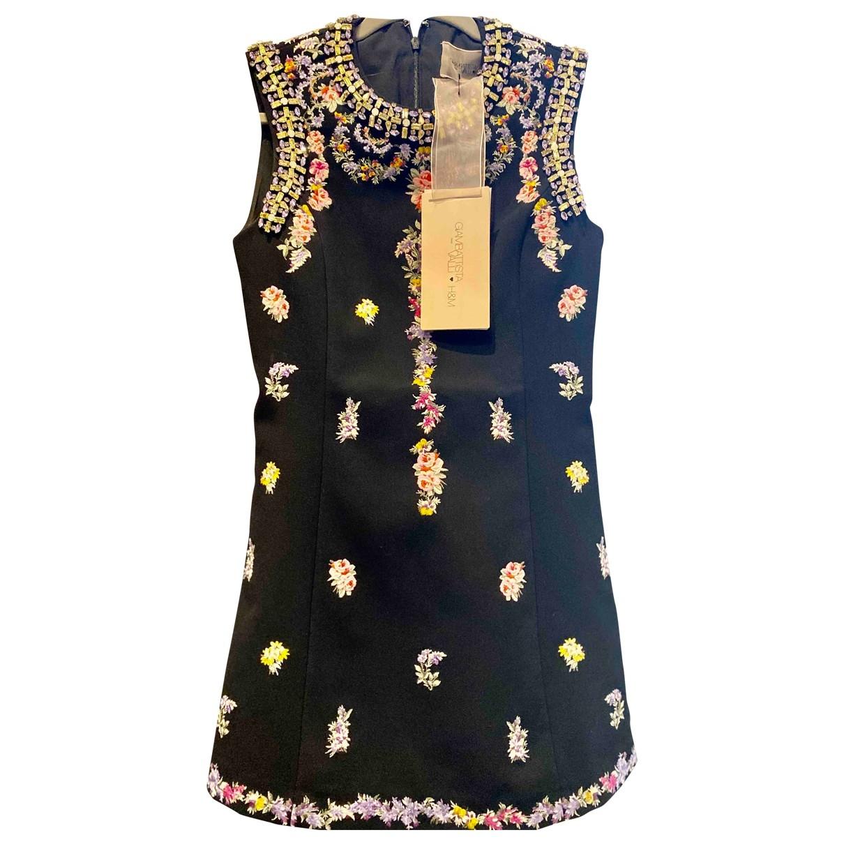Giambattista Valli X H&m - Robe   pour femme en coton - noir