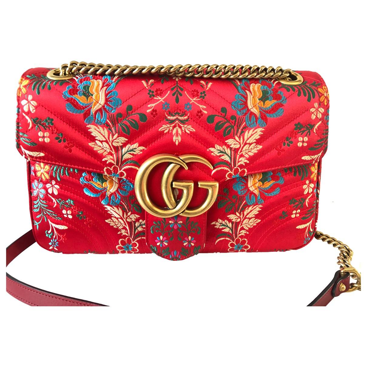 Bolso  Marmont de Seda Gucci