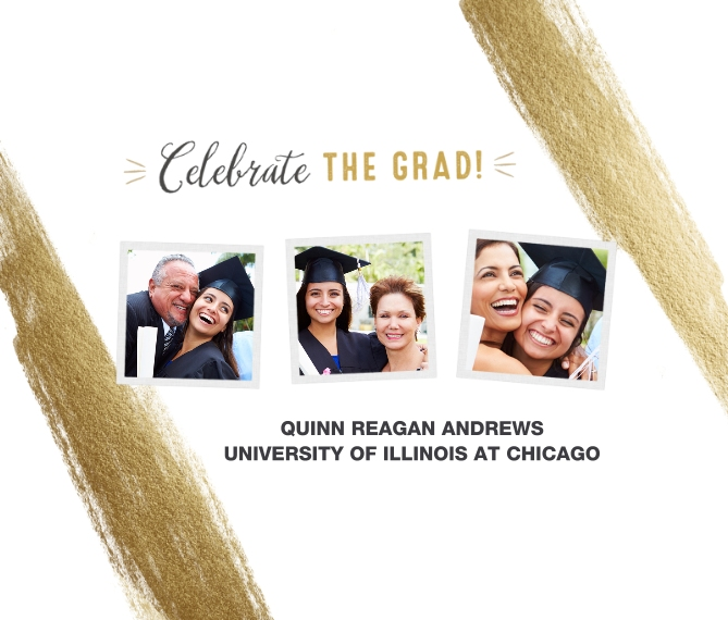 Graduation Framed Canvas Print, Black, 8x10, Home Décor -Celebrate The Grad Gold Brush