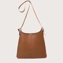 Bolso cubo minimalista con bolsillo