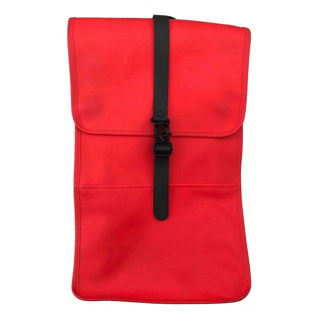 Rains - Sac a dos   pour femme - rouge