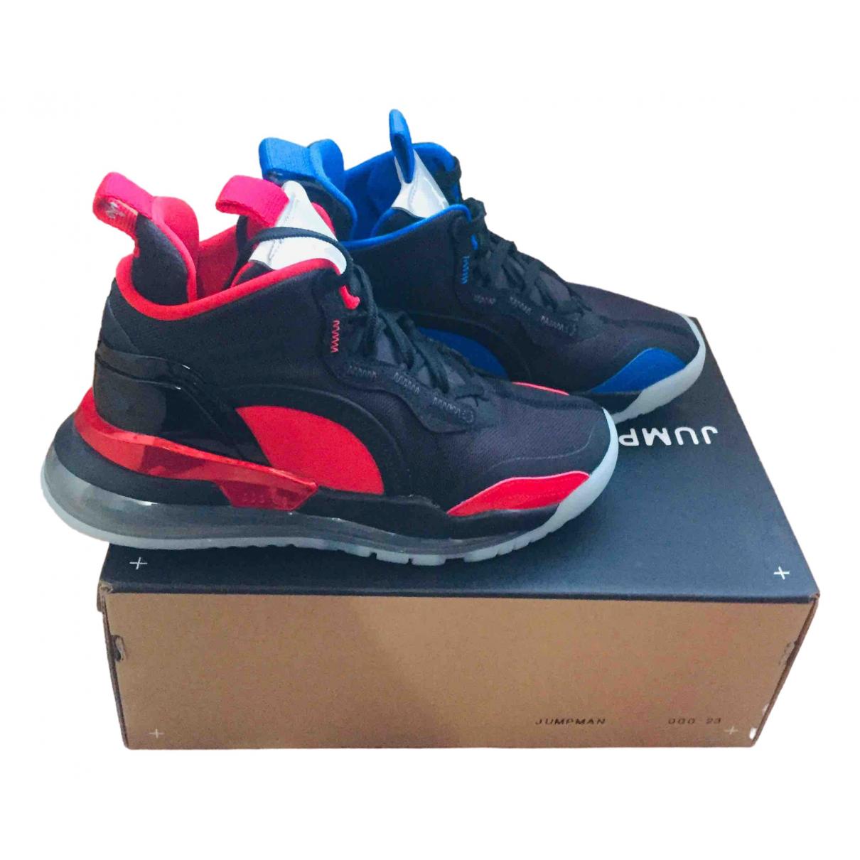 Jordan \N Sneakers in  Schwarz Kautschuk
