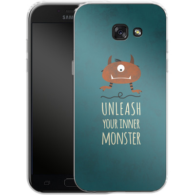 Samsung Galaxy A5 (2017) Silikon Handyhuelle - Unleash Your Inner Monster von Statements