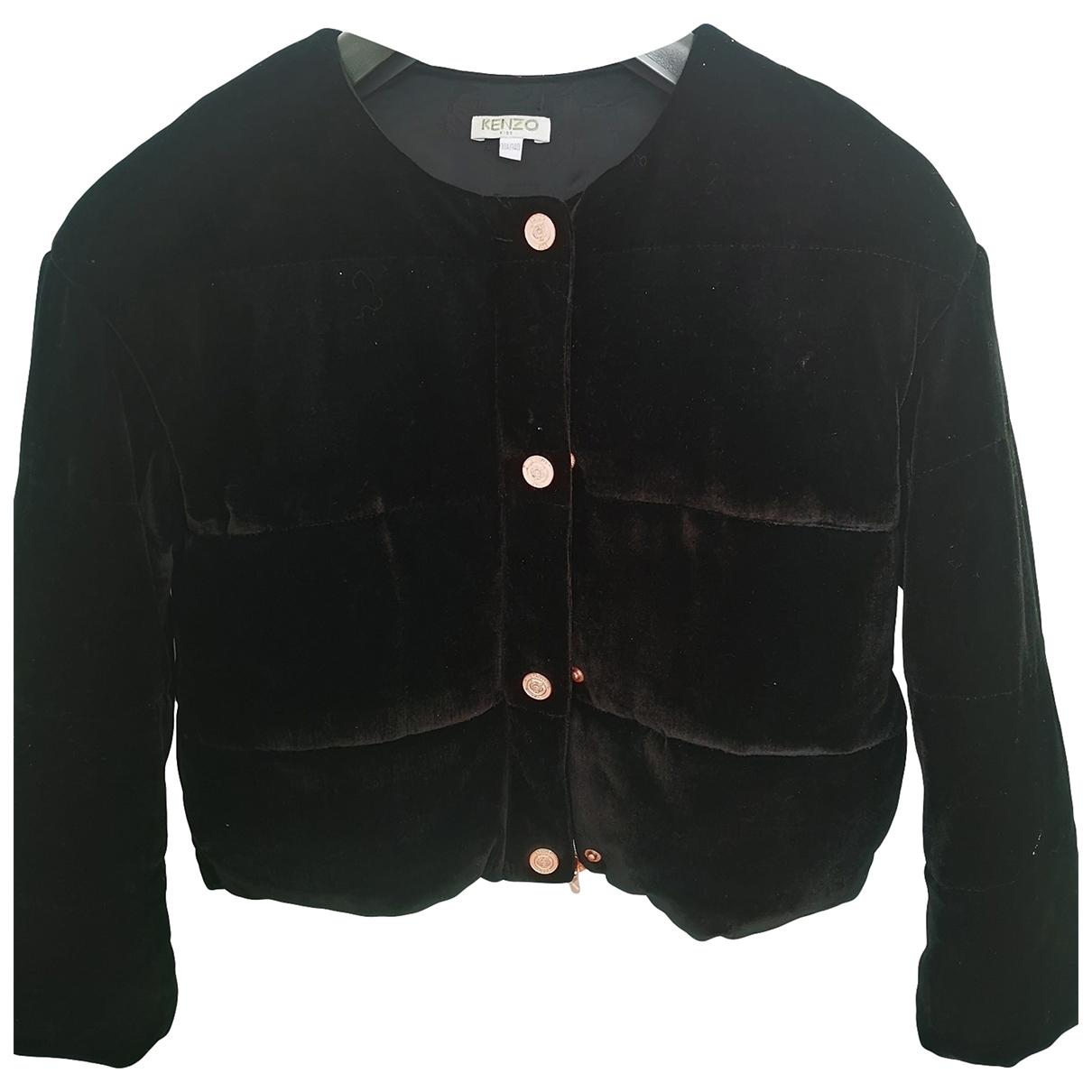 Kenzo \N Black Velvet jacket & coat for Kids 10 years - up to 142cm FR