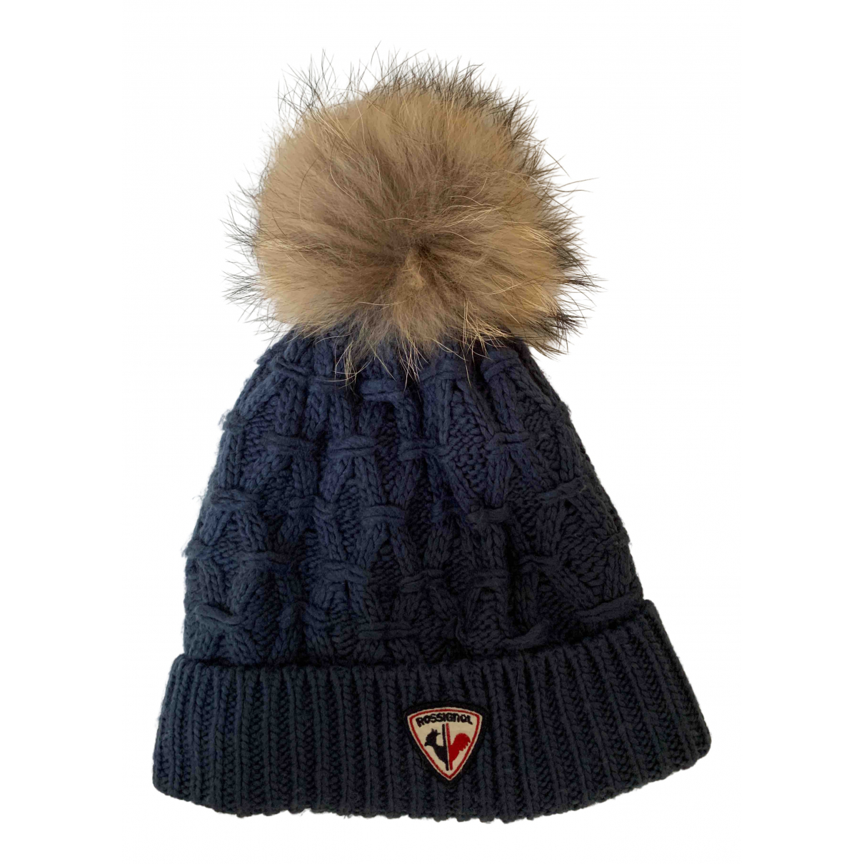 Rossignol \N Blue Raccoon hat for Women M International