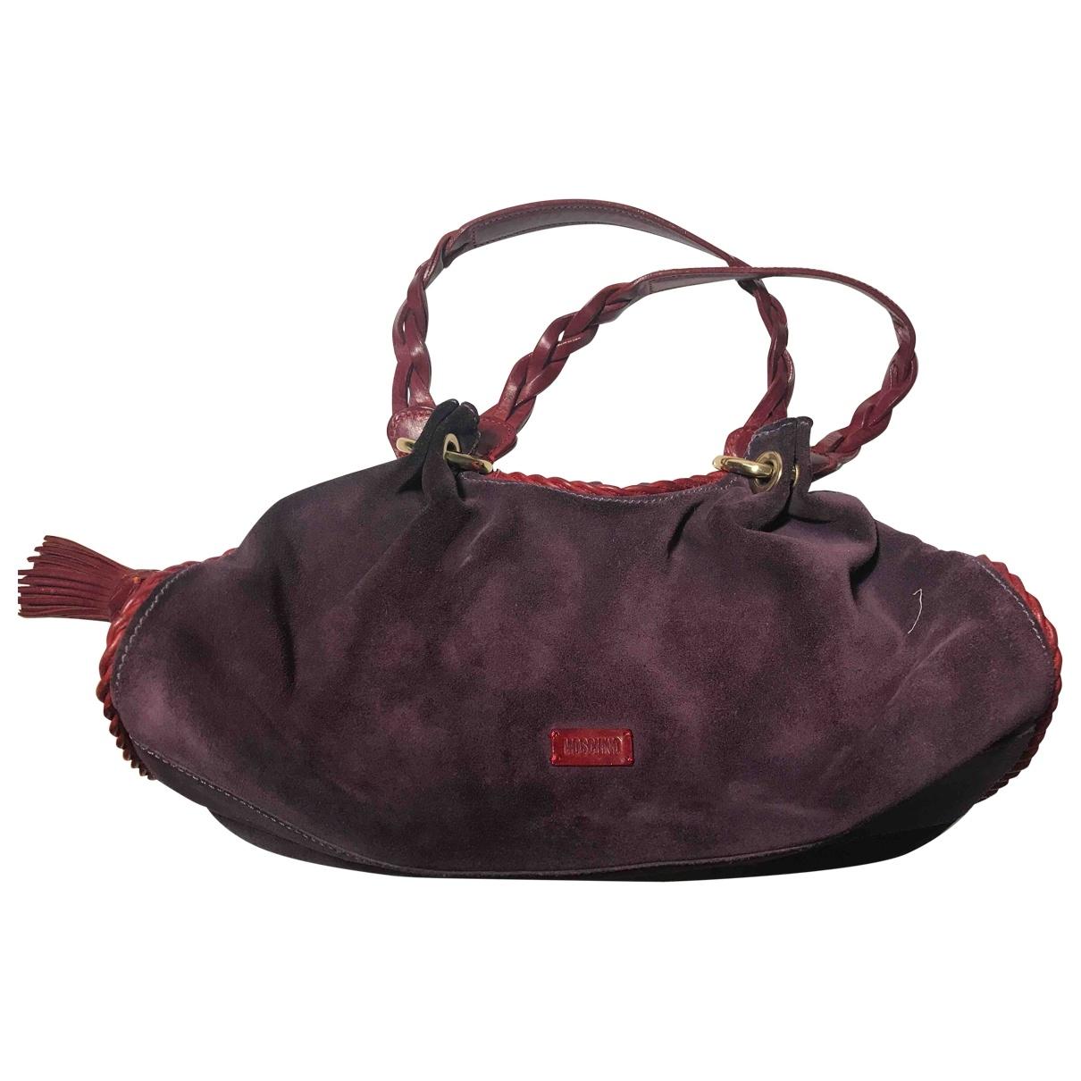 Moschino \N Purple Suede handbag for Women \N
