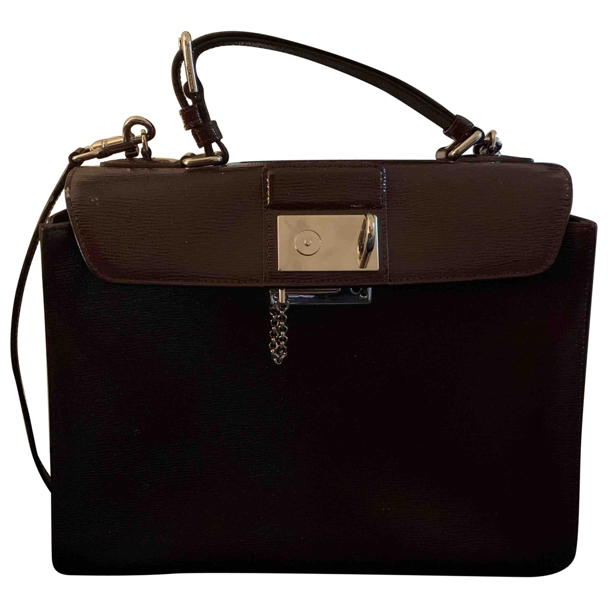 Dolce & Gabbana \N Handtasche in  Lila Leder