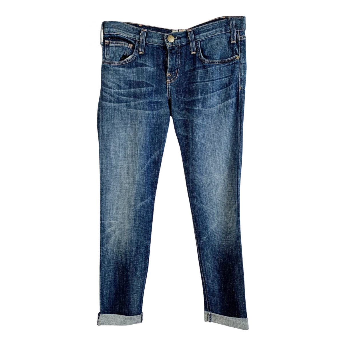 Current Elliott \N Blue Cotton Jeans for Women S International