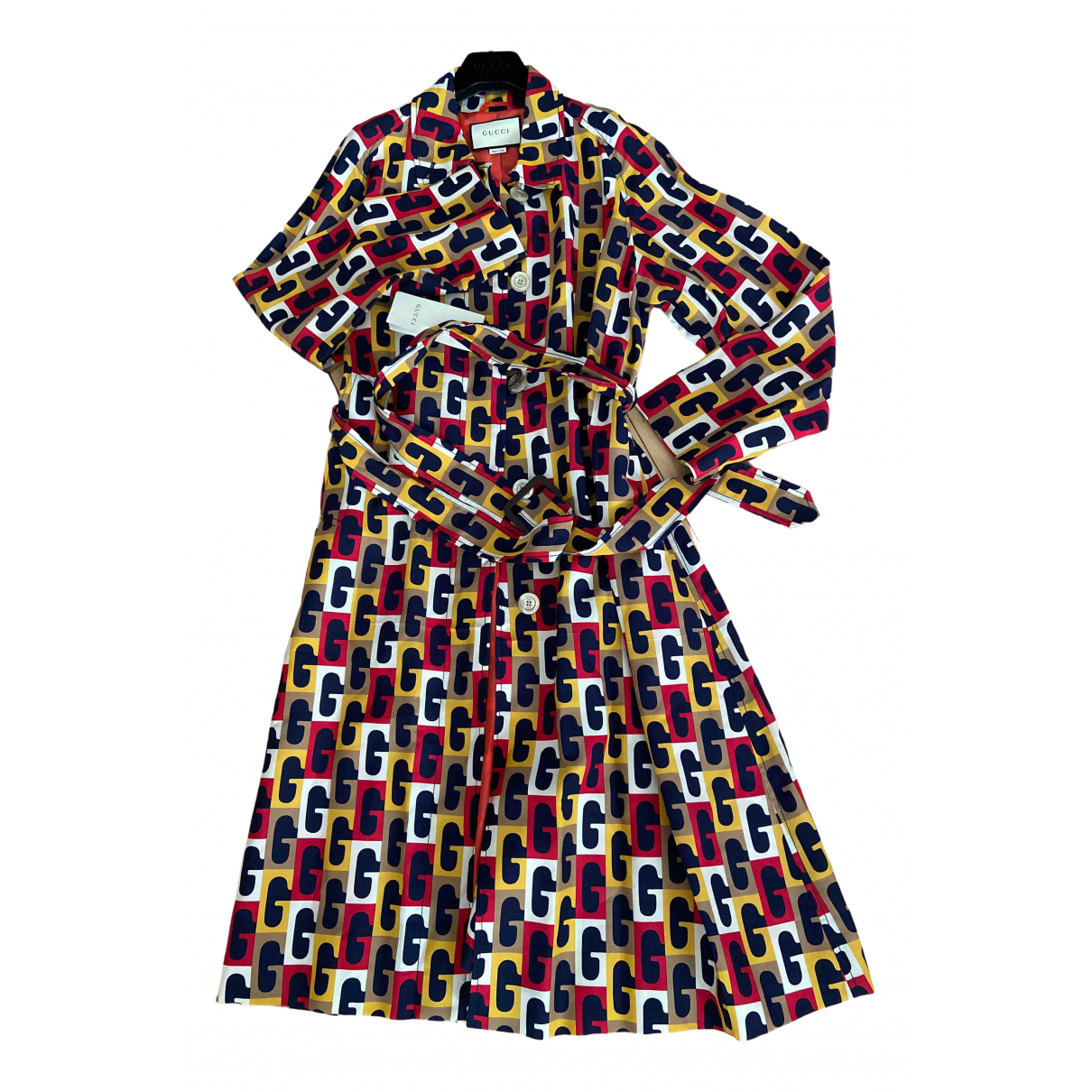 Gucci - Trench   pour femme - multicolore