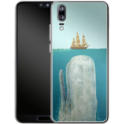 Huawei P20 Silikon Handyhuelle - The Whale von Terry Fan