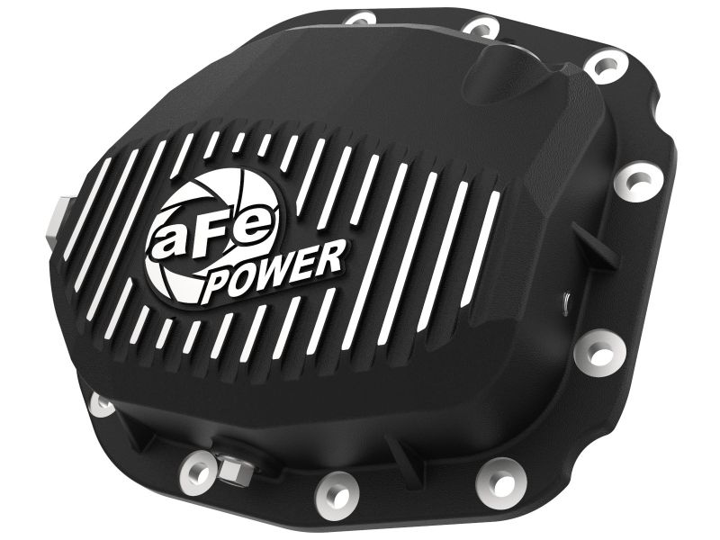 aFe Pro Series Rear Differential Cover Black with Machined Fins (Super 8.8 axle) Ford F-150 2015-2019