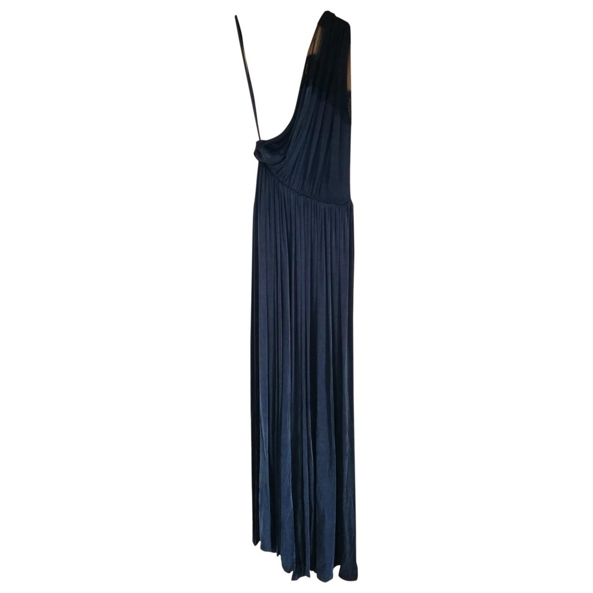 Elisabetta Franchi \N Black Cotton dress for Women 44 IT