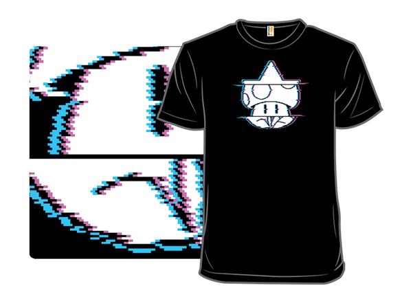 Power Up Glitch T Shirt