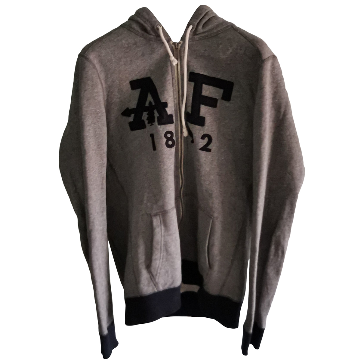 Abercrombie & Fitch \N Pullover.Westen.Sweatshirts  in  Grau Baumwolle