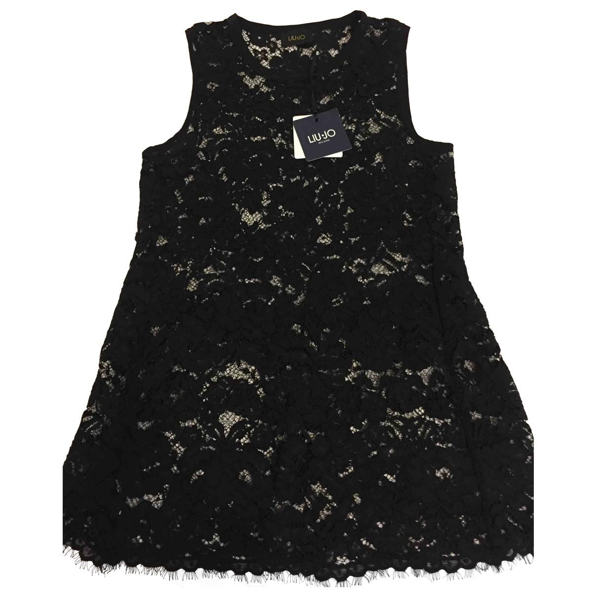 Liu.jo - Top   pour femme en coton - noir