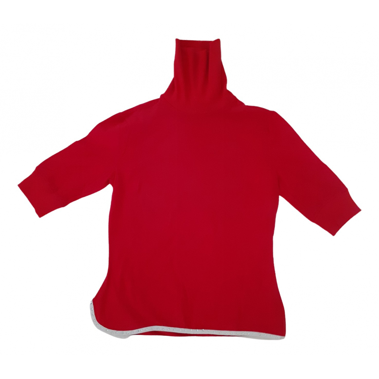 D&g - Pull   pour femme en coton - rouge