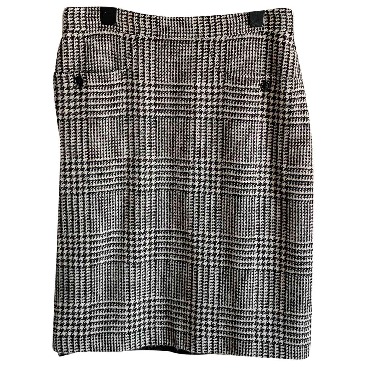 Max Mara 's \N Black Wool skirt for Women 40 IT