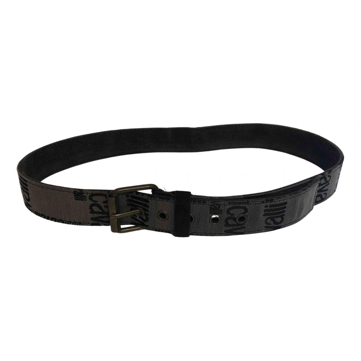 Just Cavalli N Grey Cloth belt for Men 95 cm