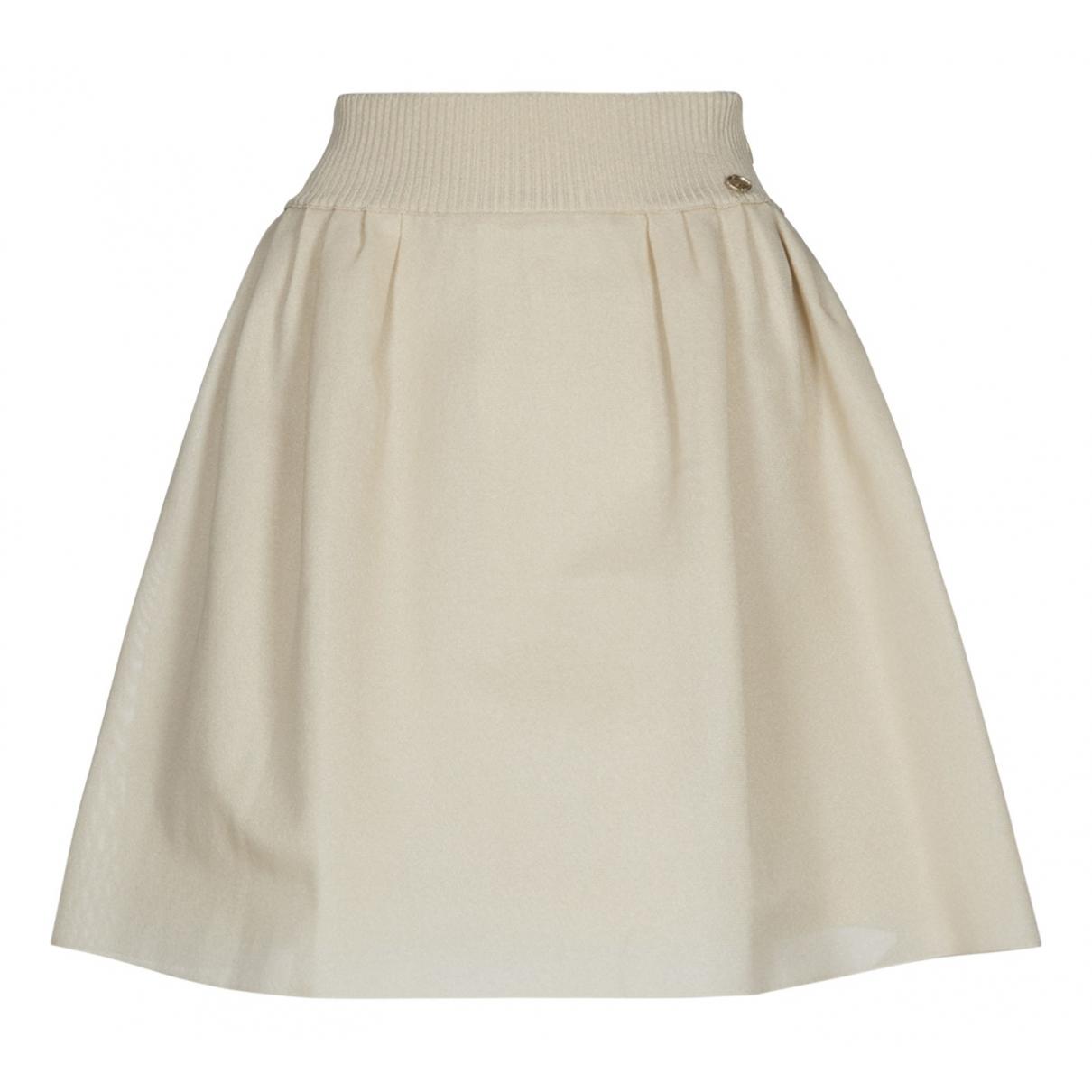 Chanel N Beige skirt for Women 12 UK