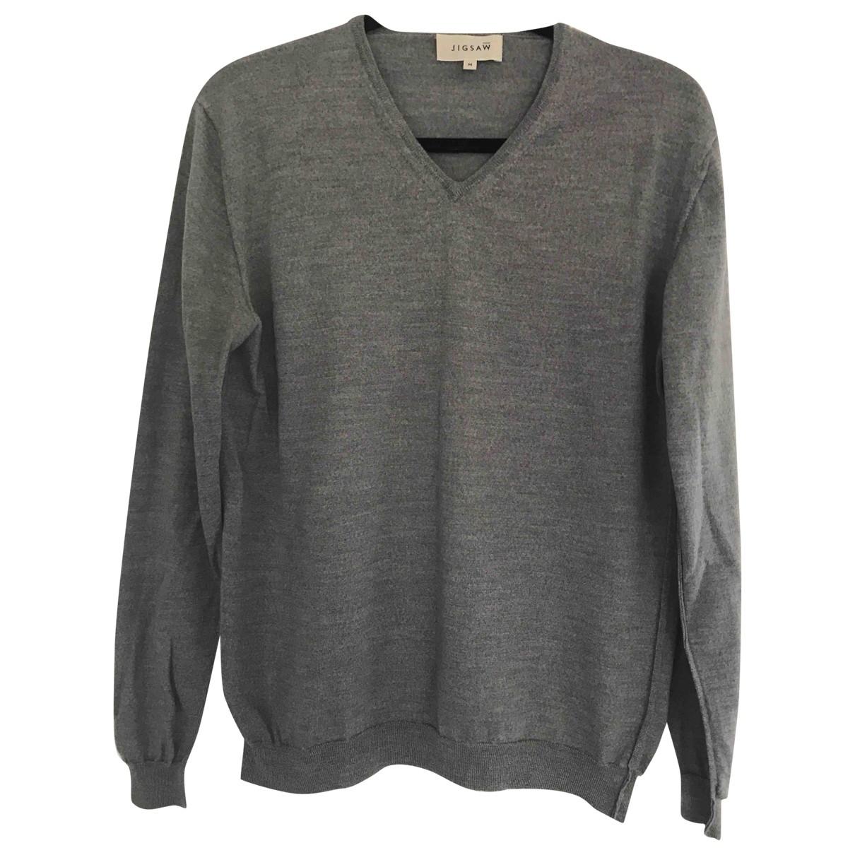 Jigsaw \N Pullover.Westen.Sweatshirts  in  Grau Wolle