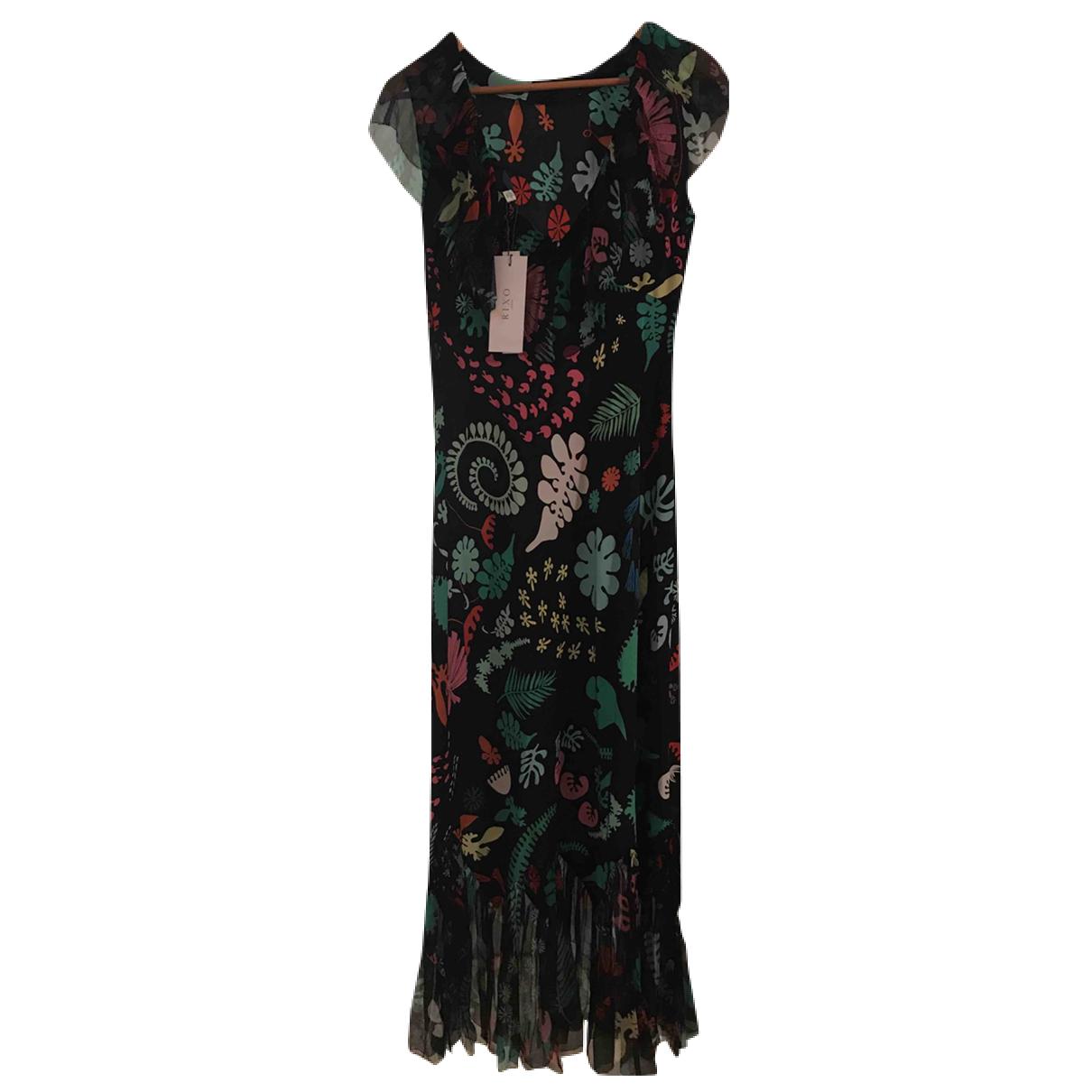 Rixo - Robe   pour femme en soie - multicolore