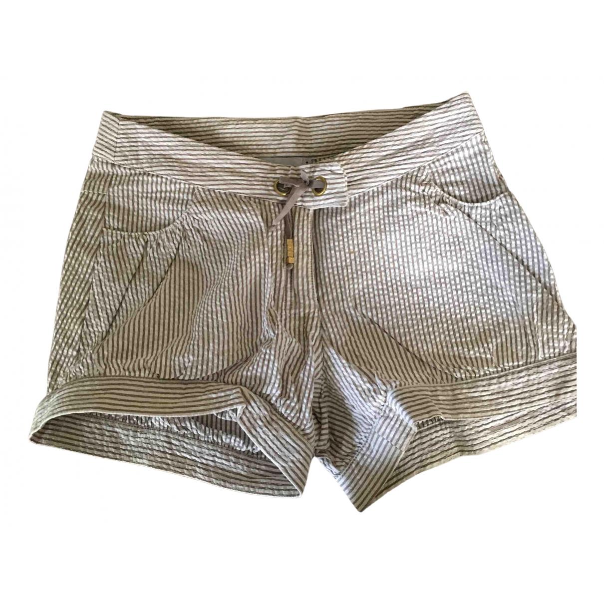 Dior - Short   pour enfant en coton - beige