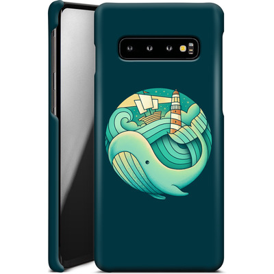 Samsung Galaxy S10 Smartphone Huelle - Into The Ocean von Enkel Dika
