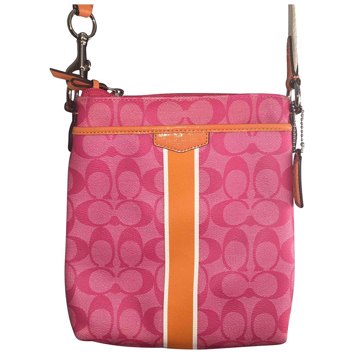 Coach \N Pink Cloth handbag for Women \N