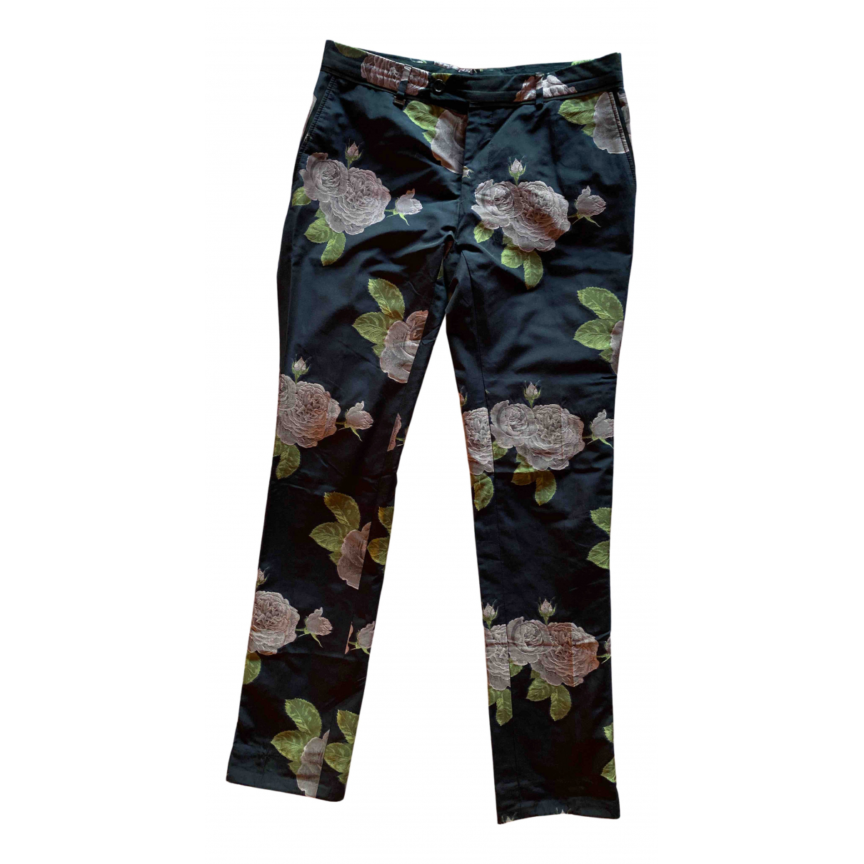 Moschino N Blue Trousers for Men 46 IT