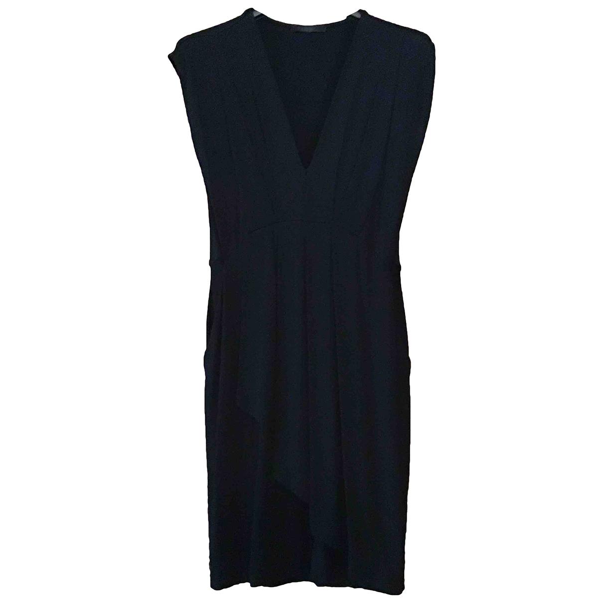 Pinko \N Black Cotton - elasthane dress for Women S International