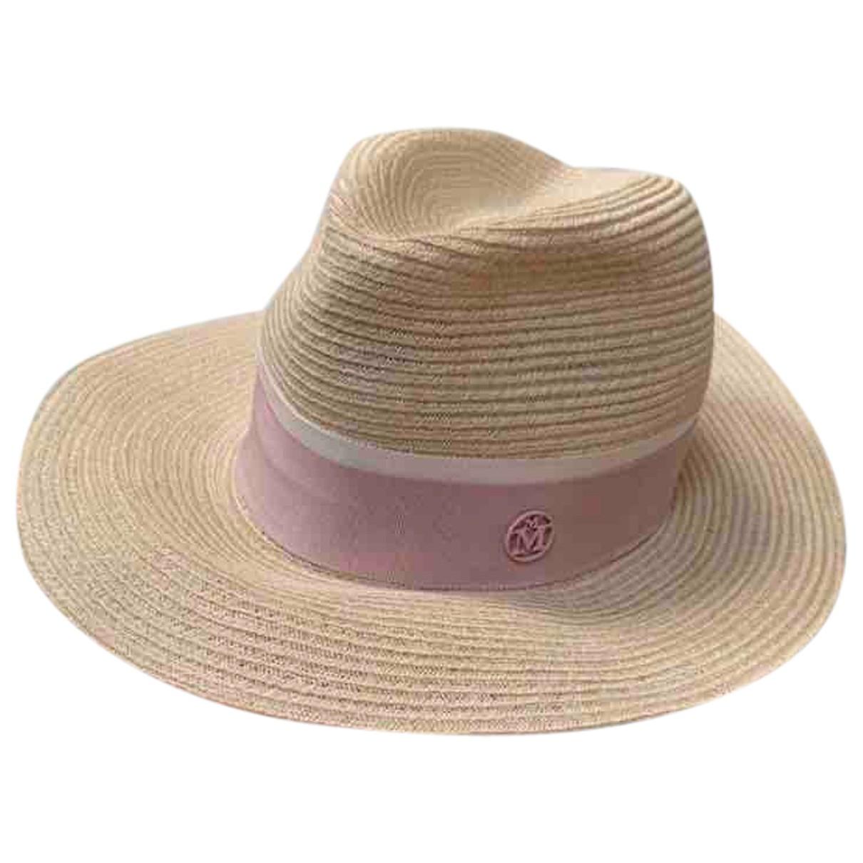 Maison Michel N Pink Wicker hat for Women S International