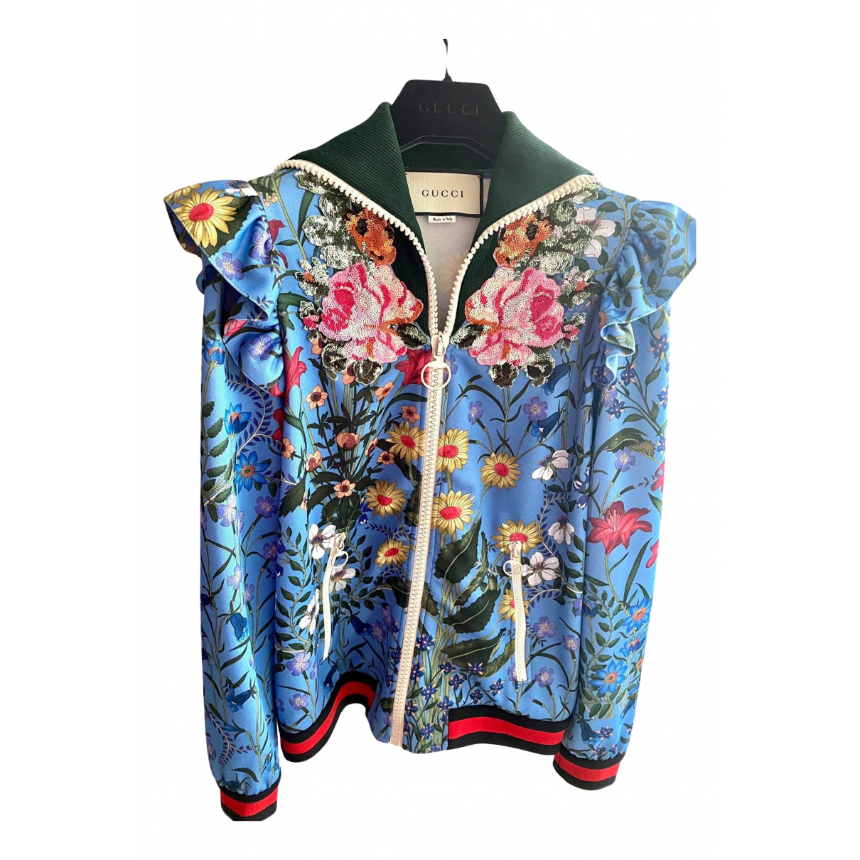 Gucci \N Jacke in Wolle